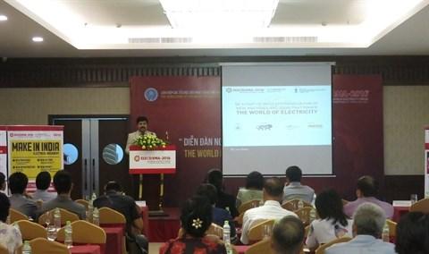 Electricite : 80 compagnies vietnamiennes a la foire Elecrama-2016 en Inde hinh anh 1