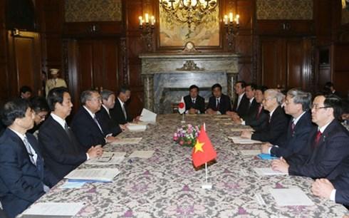 Le Vietnam et le Japon intensifient leurs relations hinh anh 1
