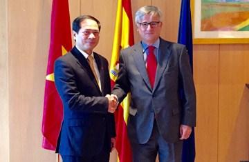 Consultation politique Vietnam-Espagne hinh anh 1