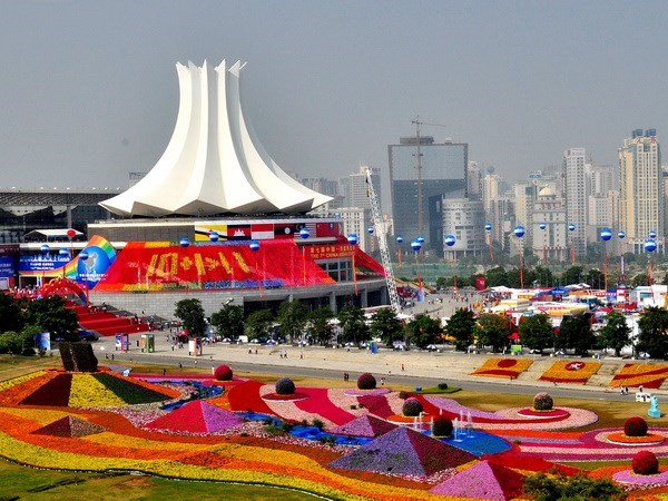 Ouverture de la 12e Foire-expo Chine-ASEAN hinh anh 1