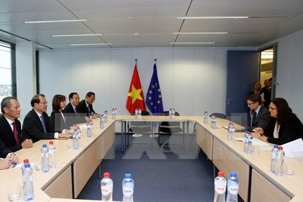 L'UE souhaite cooperer davantage avec le Vietnam hinh anh 1