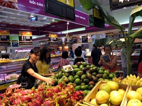 Supermarche : porte grande ouverte sur les produits agricoles des localites hinh anh 1
