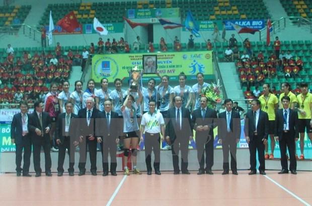 La Thailande remporte le Championnat de volley-ball feminin des clubs d'Asie 2015 hinh anh 1