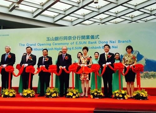 Inauguration d'une banque taiwanaise a Dong Nai hinh anh 1