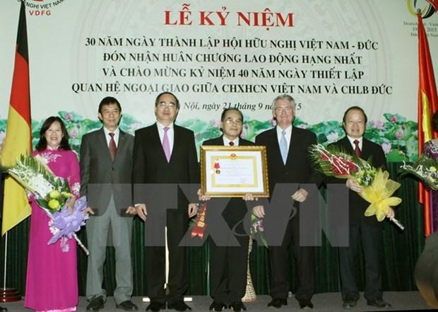 L'Association d'amitie Vietnam-Allemagne souffle ses 30 bougies hinh anh 1