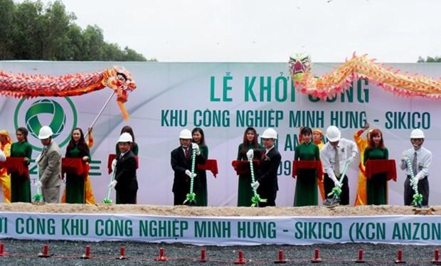 Binh Phuoc : mise en chantier de la zone industrielle Minh Hung-Sikico hinh anh 1