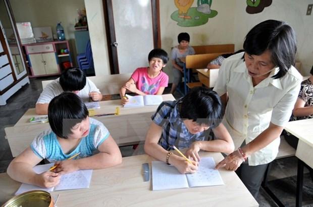 La CBM appuie l'education integree des enfants handicapes a Quang Ngai hinh anh 1