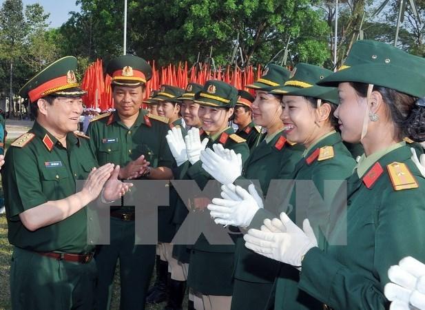 Cours d'anglais pour des officiers vietnamiens hinh anh 1