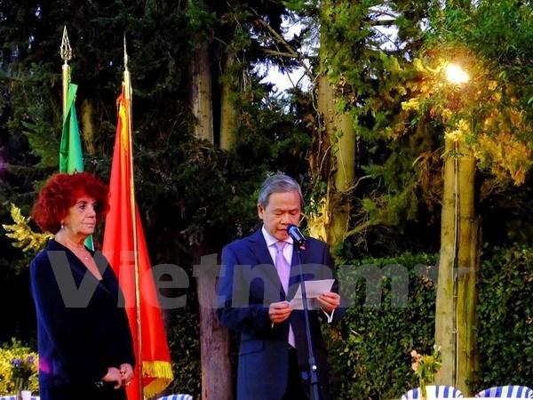 Renforcement des relations entre le Vietnam et l'Italie hinh anh 1