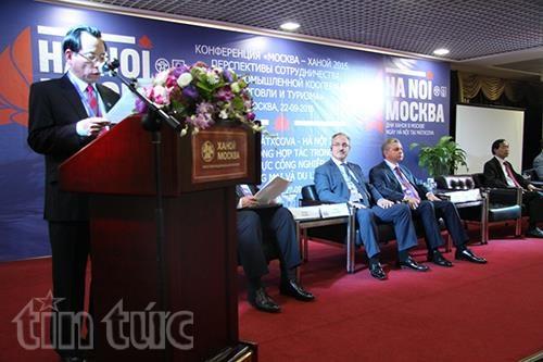 Promotion de l'investissement, du commerce et du tourisme Hanoi-Moscou hinh anh 1