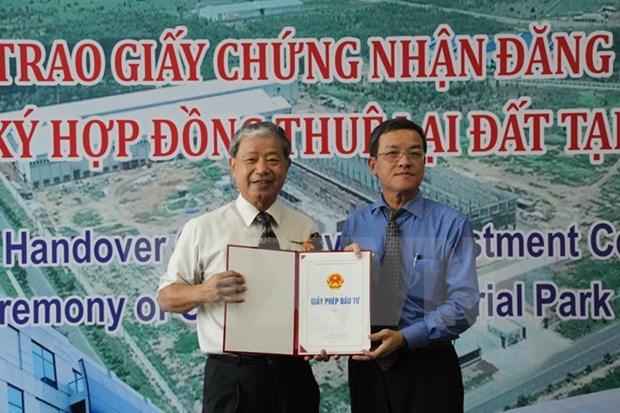 Le groupe taiwanais Kenda investira 160 millions de dollars a Dong Nai hinh anh 1