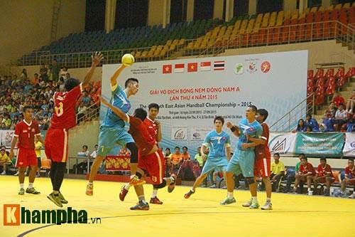 Ouverture du Championnat d'Asie du Sud-Est de hanball 2015 hinh anh 1