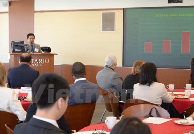 Forum d'affaires du Vietnam au Canada hinh anh 1