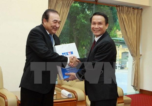 Vietnam - Mexique : les Agences de presse VNA et NOTIMEX renforcent leurs relations hinh anh 1