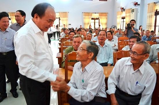 Nguyen Xuan Phuc rencontre des electeurs de Quang Nam hinh anh 1