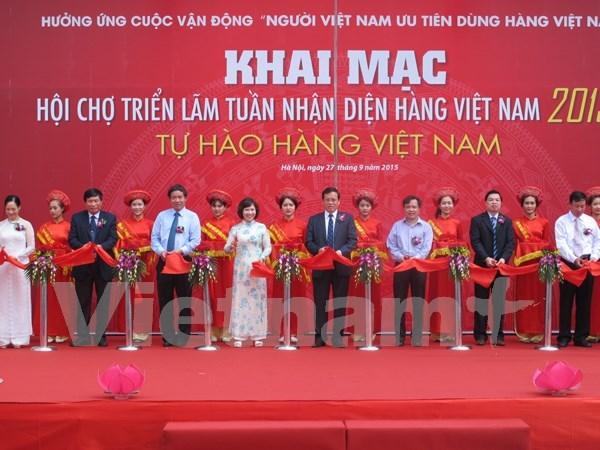 Ouverture d'une Foire-expo sur l'identification des produits vietnamiens hinh anh 1