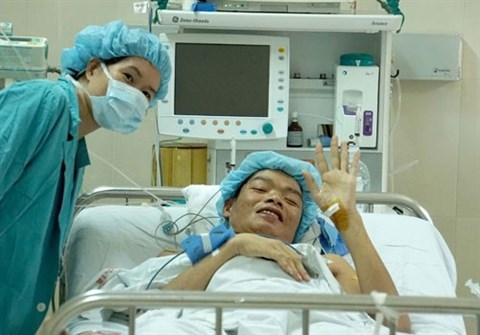 Deux vies sauvees par le cœur et le foie d'un donneur hinh anh 2