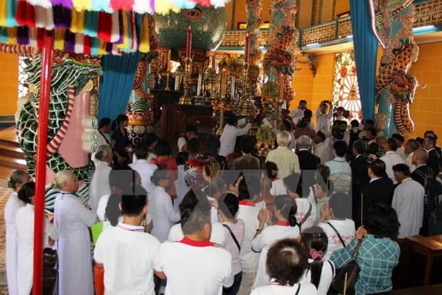 Tay Ninh : la fete Dieu Tri au Saint-Siege du caodaisme hinh anh 1