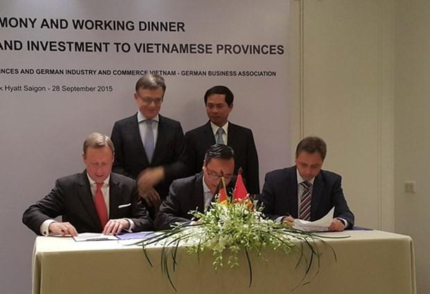 Renforcement la connexion entre localites vietnamiennes et entreprises allemandes hinh anh 1
