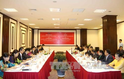 Vietnam-Laos : cooperation impulsee dans les affaires ethniques hinh anh 1