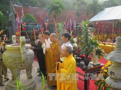 Celebrer le 573e anniversaire de la mort de Nguyen Trai, homme de culture du monde hinh anh 1