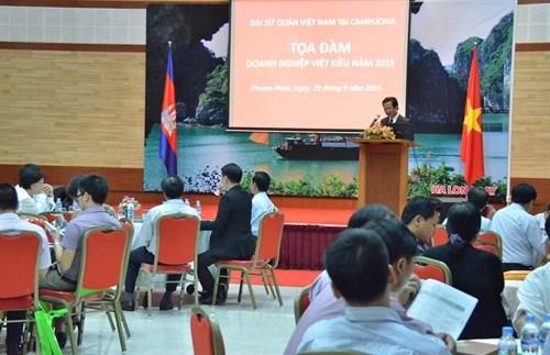 Table ronde des entreprises Viet kieu au Cambodge hinh anh 1