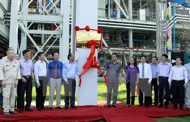 Inauguration de la centrale thermoelectrique An Khanh I a Thai Nguyen hinh anh 1