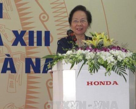 La vice-presidente Nguyen Thi Doan rencontre des electeurs de Ha Nam hinh anh 1
