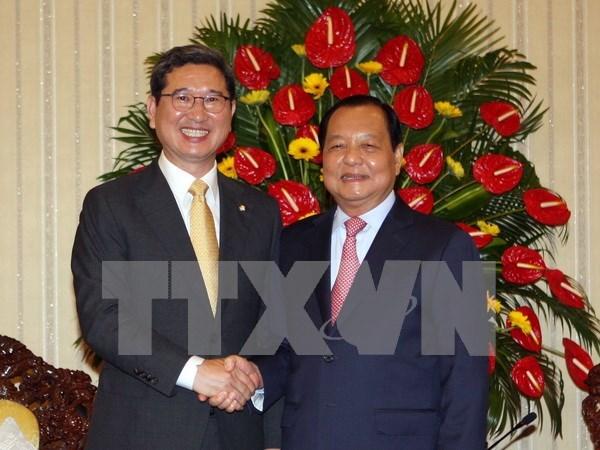 Ho Chi Minh-Ville favorise les activites des Sud-coreens hinh anh 1