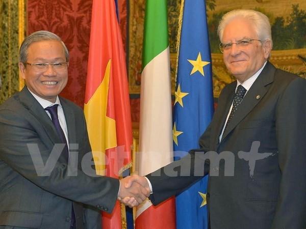 Porter les relations Italie-Vietnam a une nouvelle hauteur hinh anh 1