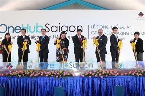 Debut du projet de Complexe d'affaires OneHub Saigon hinh anh 1
