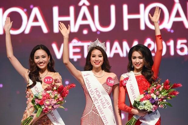 Pham Thi Huong sacree Miss Univers Vietnam 2015 hinh anh 1