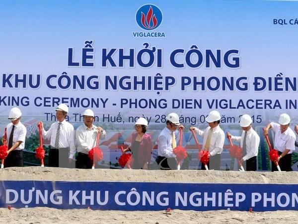 Thua Thien-Hue: les ZI attirent 3.330 milliards de dongs en neuf mois hinh anh 1