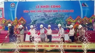Construction du quai N°4 du port de Vung Ang hinh anh 1