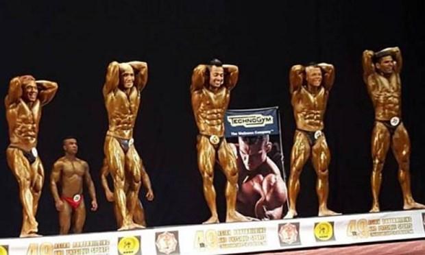 Bodybuilding et fitness d'Asie : 5 medailles d'or pour le Vietnam hinh anh 1