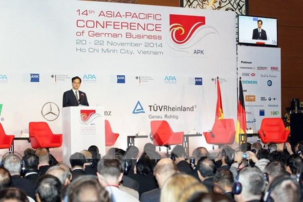 Les entreprises allemandes souhaitent renforcer la cooperation avec le Vietnam hinh anh 1