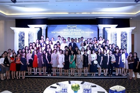 Enquete «Les meilleurs endroits ou travailler au Vietnam 2015» hinh anh 1