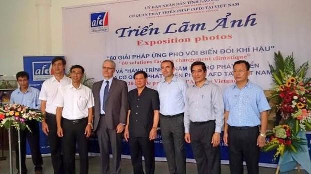 AFD: Exposition de photos sur le changement climatique a Lao Cai hinh anh 1
