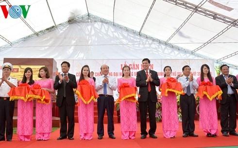 Inauguration du port pour passagers etrangers de Tuan Chau a Quang Ninh hinh anh 1