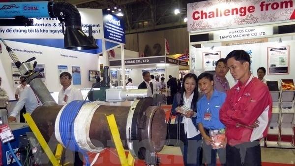 HCM-Ville : ouverture d'une serie d'expositions sur l'industrie auxiliaire hinh anh 1