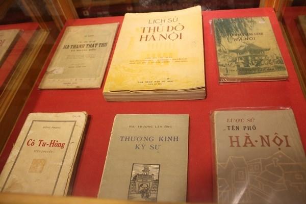 Retrouver Hanoi d'hier a travers les pages des livres hinh anh 1