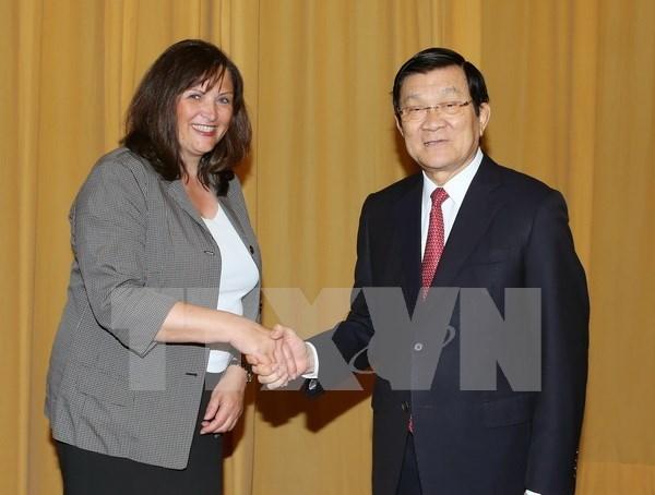 Renforcer la cooperation vietnamo-allemande dans l'education hinh anh 1