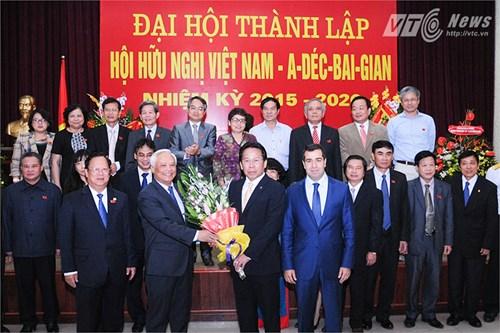 L'association d'amitie Vietnam-Azerbaidjan voit le jour hinh anh 1