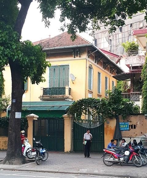 Appel au secours des anciennes villas coloniales a Hanoi hinh anh 2