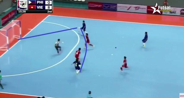 Le Vietnam en demi-finale des Championnats de futsal d'Asie du Sud-Est hinh anh 1