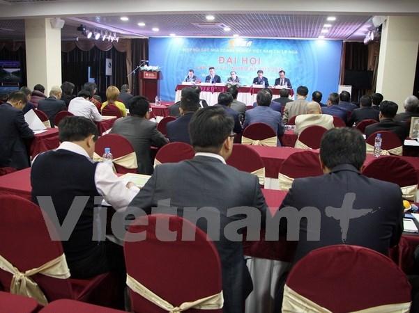 Congres de l'Association des entreprises vietnamiennes en Russie hinh anh 1