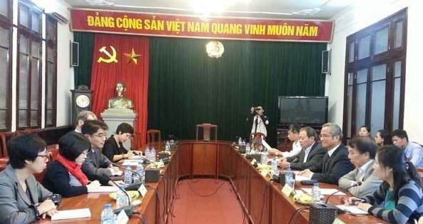 Syndicat : la CGTV et l'OIT intensifient leur cooperation hinh anh 1