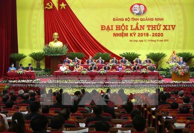 Ouverture du 14e congres de l'organisation du PCV pour Quang Ninh hinh anh 1