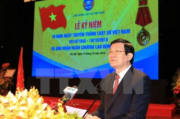 Celebration de la Journee traditionnelle des avocats vietnamiens hinh anh 1