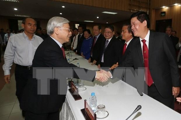 Le Parti et l'Etat creent toujours des conditions propices aux entreprises hinh anh 1